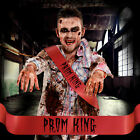 Prom King Prom Queen Sash MENS Costume Halloween Accessory Night Fun Him