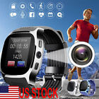 bluetooth Smart Watch Phone Mate SIM Pedometer For Android IOS iPhone Samsung T8