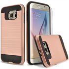 For Samsung Galaxy S6 Edge Plus Phone Case Cover + Tempered Glass Protector