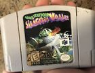 Space Station: Silicon Valley (Nintendo 64, 1998) Authentic Rare