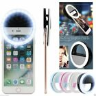 Selfie Portable LED Ring Light Flash For Apple iPhone Samsung LG Phone Light