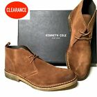 $169 Kenneth Cole New York Men's Rust Suede Chukka Boot - Made in Portugal