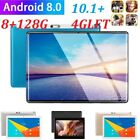 10.1 Inch 4G-LTE Tablet PC Android 8.0 2.5D Screen 8 128GB Dual SIM Phablet PC