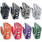 Внешний вид - NEW Mens Under Armour Swarm Receiver Football Gloves - Select Size and Color!