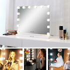Hollywood Lighted Makeup Mirror Dimmer Vanity Mirror Tabletop/ Wall Beauty Salon