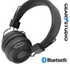 Wireless Headphones Bluetooth v5 Headset Over Ear With Microphone FM & Micro SD