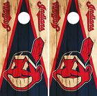 Cleveland Indians Cornhole Skin Wrap MLB Wood Decal Vinyl Board Logo DR583 on Ebay