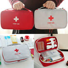 JU_ First Aid Kit Bag Emergency Medical Survival Treatment Rescue Empty Box