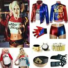 Adult & Kids Harley Quinn Cosplay Costume Suicide Squad Halloween Fancy Dress ^t £13.99 GBP on eBay