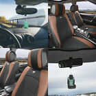 Luxury Leather Bucket Seat Covers Set for Car SUV 10 Colors w/ Free Gift $254.99 USD on eBay