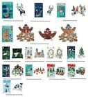 Roger la Bord Pop and Slot Christmas Decorations 3 D Folk Art Beautiful