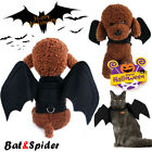 Halloween Pet Costumes Spider Bat Wings Pet Apparel for Dog and Cats Fancy Dress