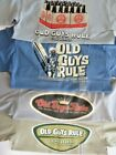 OLD GUYS RULE Men's T-Shirt, Size Medium, NEW W/TAGS  image