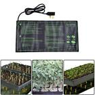18W Heat Pad Plant Flower Seedling Bed Warm Hydroponic Electric Heater Mat UK
