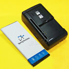 UPGraded Sporting 3770mAh Battery or Travel Charger for AT&T Microsoft Lumia 950