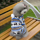 Pet Dog Fleece Jumper Knitwear Winter Coat Puppy Chihuahua Warm Sweater Clothes