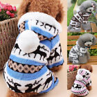 Kyпить Pet Dog Fleece Jumper Knitwear Winter Coat Puppy Chihuahua Warm Sweater Clothes на еВаy.соm