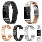 For Fitbit Charge 3 / 3 SE Bands,Stainless Steel Bracelet Metal Watch Wrist Band image