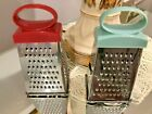 Stainless Steel Vertical Mini Cheese Grater Nutmeg Lemon Cheese Choice Red/Green