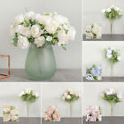 Artificial Peony Fake Flower Bouquet Home Wedding Table Decoration Party Supply