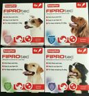 BEAPHAR FIPROTEC DOG SPOT ON FLEA DROPS KILLS FLEAS TICKS EASY TO USE TREATMENT
