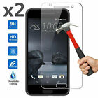 x2 Genuine Tempered Glass Screen Protector For HTC Cell Phone
