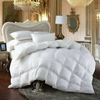 Hypoallergenic Down Alternative Comforter Duvet Insert White Bed Twin Queen King image