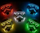 USA Storm Trooper Star Wars Neon LED Light Up Mask Costume Purge Halloween Rave $23.5 USD on eBay