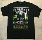 Home Alone Merry Christmas Ya Filthy Animal Shirt-Men's Size L,XL,2XL NEW