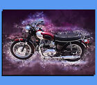 Box Canvas: Motorcycles - Triumph Bonneville - Various Sizes - Ready To Hang €14.51 EUR on eBay