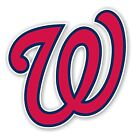 Washington Nationals  (W) Decal / Sticker Die cut on Ebay