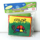Intelligence development Cloth Cognize Book Educational Toy for Kid Baby LIPYB