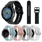 For Samsung Galaxy Watch 42mm/Active 40 44mm Silicone Watch Band Strap Bracelet image