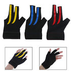 Snooker Billiard Cue Spandex Gloves Pool Left Hand Open Three Finger Glove+tWCP $6.13 CAD on eBay
