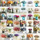 Artifical Hydrangea Flower Bridal Wedding Party Bouquet Posy Flowers Home Decor