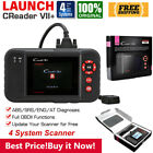 Купить LAUNCH X431 CRP129X VII+ Car OBD2 Scanner Code Reader ABS SRS Engine Diagnostic