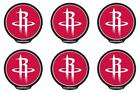 POWERDECAL PWR89001 Decal NBA (R) Series Houston Rockets Logo 6 PACK on eBay