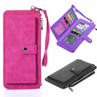 Smartphone Cell Phone Carrying Pouch RFID Wallets Case cover for Women Lady Girl