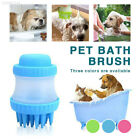 C014 3 Colors Dog Brush Pet Cleaning Remove Cuticle Durable Pet Shampoo Brush