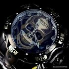Invicta Reserve Venom Gen III Skull Black Steel Swiss Chrono Mvt 52mm Watch New image