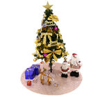 "50"" Round Sequin Tree Skirt Shiny Christmas Tree Party Holoiday Deocration"
