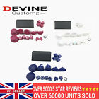 Limited Edition For PS4 Controller JDM-040 Full Button Replacement Mod Kit ABXY