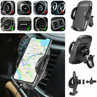GPS Cell Phone Holder For Car Air Vent Mount 360 Adjustable Universal Stand Clip