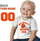 Cleveland Brown shirt t-shirt tee Baby jersey Newest fan personalized customized