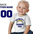 LA Los Angeles Charger shirt t-shirt tee Baby jersey personalized customized
