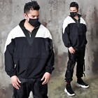 NewStylish Mens Contrast anorak jacket 7