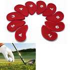Golf Clubs Head Covers PU Leather Golf Iron Pole Putter Headcover Set