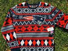 Authentic New England Patriots Ugly Christmas Sweater NFL Team Apparel X-Mas $39.99 USD on eBay