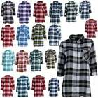 Officially Licensed NFL Women's Plaid Night Shirt by Concepts Sport 613433-J $24.9 USD on eBay