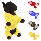 Pets Dogs Hoodie Coat Raincoat Puppy Waterproof Jacket Apparel Clothes Apparel
